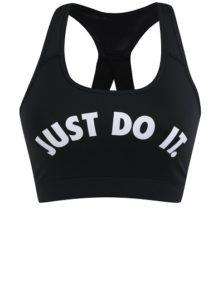 Sportovní černá podprsenka Nike – JUST DO IT