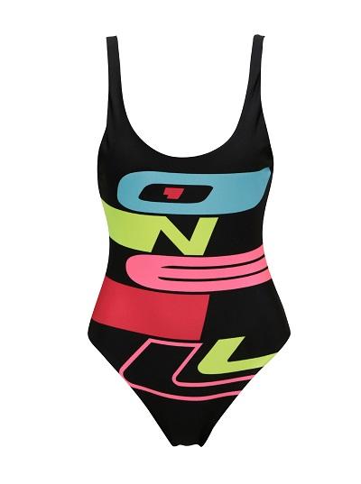 Stylové jednodílné plavky s potiskem O'Neill