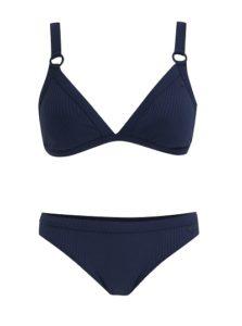Read more about the article Dvoudílné modré vzorované plavky Roxy