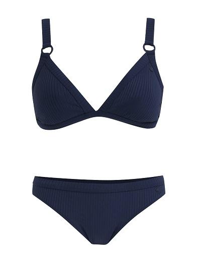 Dvoudílné modré vzorované plavky Roxy