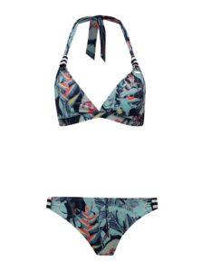 Pestré vzorované dvoudílné plavky Roxy