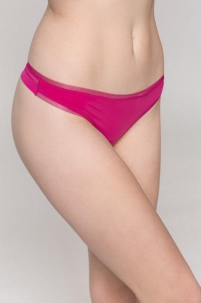 318e242632 Luxusní dámské spodní prádlo - růžová Tanga Calvin Klein - ONLYSHE
