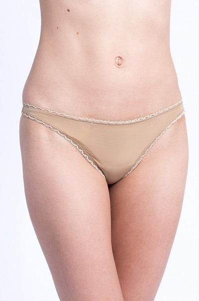 Dámské spodní prádlo – krajková Tanga Calvin Klein