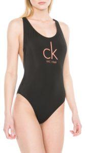Read more about the article Černé dámské jednodílné plavky Calvin Klein