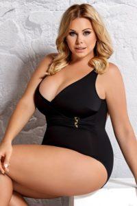 Dámské jednodílné plavky pro ženy plnějších tvarů