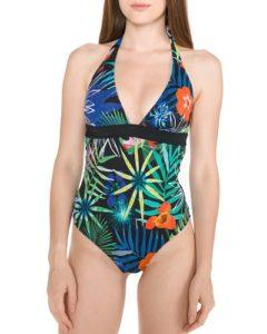 Pestrobarevné dámské jednodílné plavky Desigual