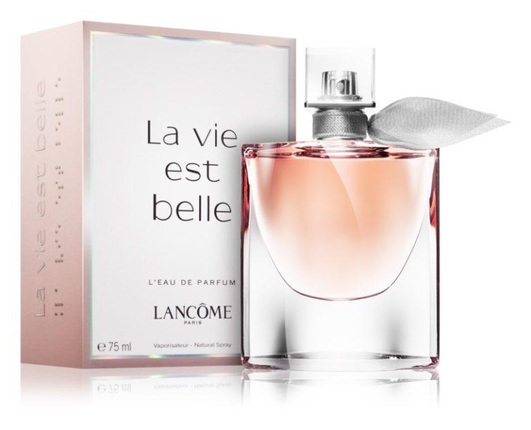 Sladký květinový dámský parfém Lancôme
